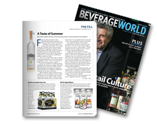 Age Defense Waters Beverage World Magazine Cover